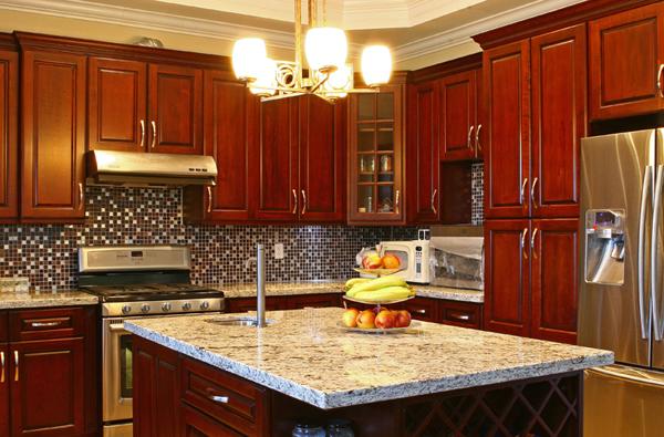 cherry raise kitchen cabinet calgary cabinets depot